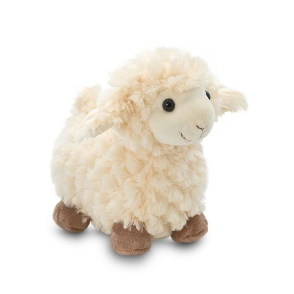 Adorable Personalized Small Easter Plush Big Foot Lamb Stuffed Toy