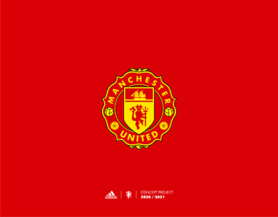 This Is My Personal Project For The Famous Football Club Manchester United I Tried To M Manchester United Football Club Logo Redesign Manchester United Logo