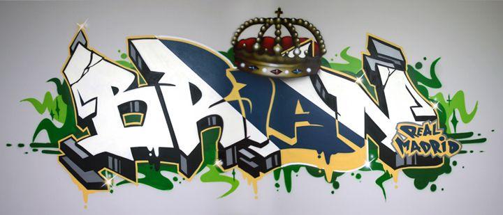 Graffiti Name Brian By Graffitiartist On Deviantart