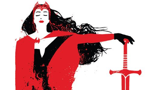 """""""Thou shalt not suffer a witch to live.      Exodus 2:18"""" --Scarlet Witch"""