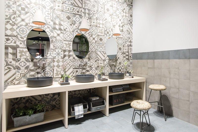 Cementine ceramiche keope Дизайн ванна bathroom