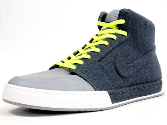 The Nike Royal Mid VT made a popular first appearance as part of the  colette Macaron Collection. For Fall 2010 it returns in two colorways 90d4ea41c