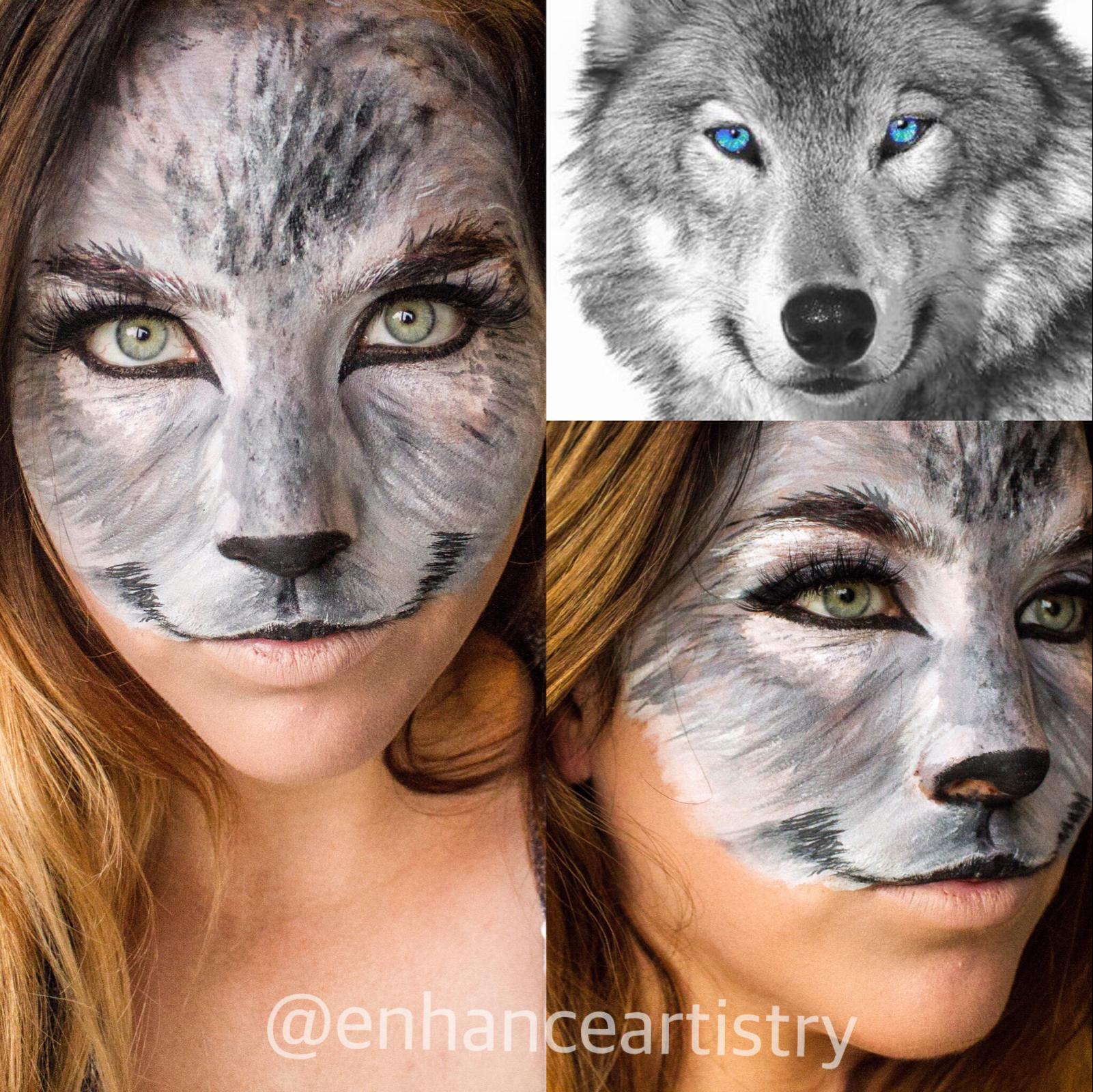 Wolf Makeup For Halloween Halloweencostumekids Kostume
