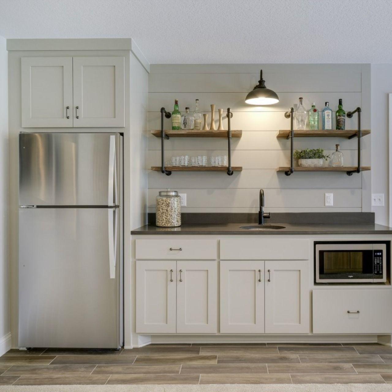 Hanson Builders Crestwood Wetbar Small Basement Kitchen Basement Kitchen Basement Living Rooms