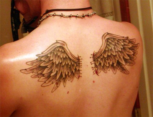 99 Breathtaking Angel Tattoos With Meaning Wing Tattoos On