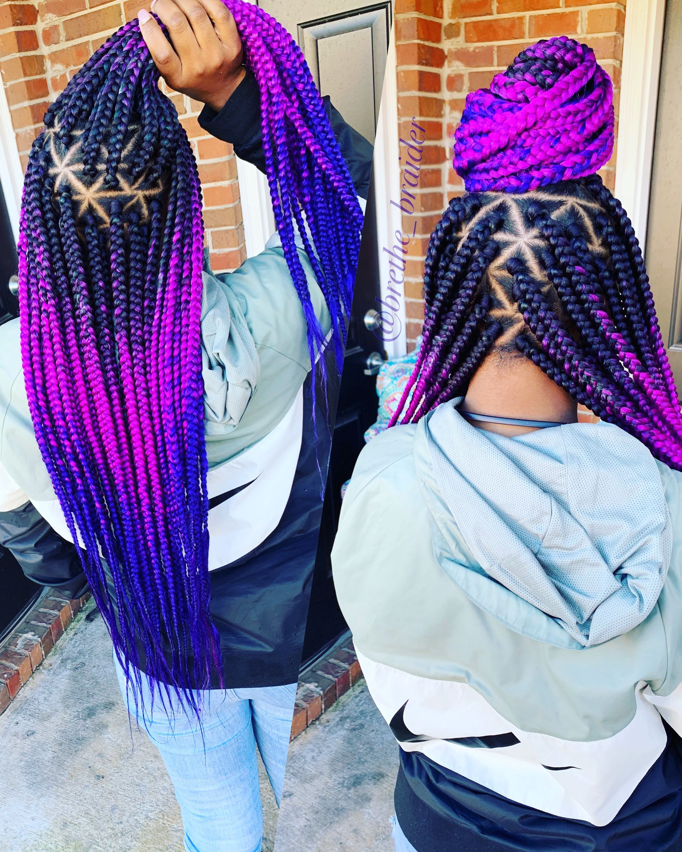 40 Gorgeous Big Box Braids Styles With Images Small Box Braids