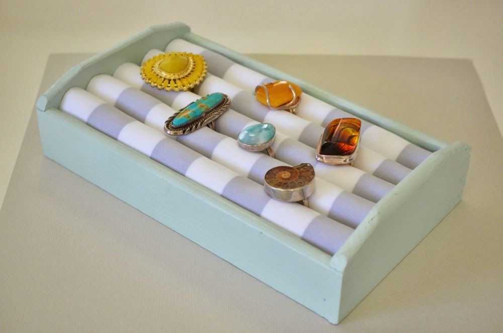 Tutorial Wooden Ring Box Organizer