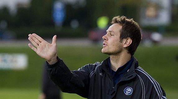 Coach Juho Rantala