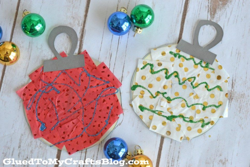 Recycled CD Ornaments - Kid Craft | Christmas ornaments | Pinterest ...