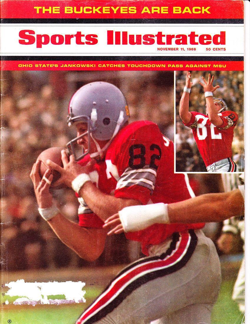 1968 sports illustrated bruce jankowski ohio st buckeyes