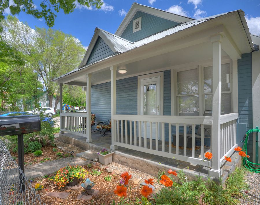 Downtown cottage vacation rental home in durango colorado