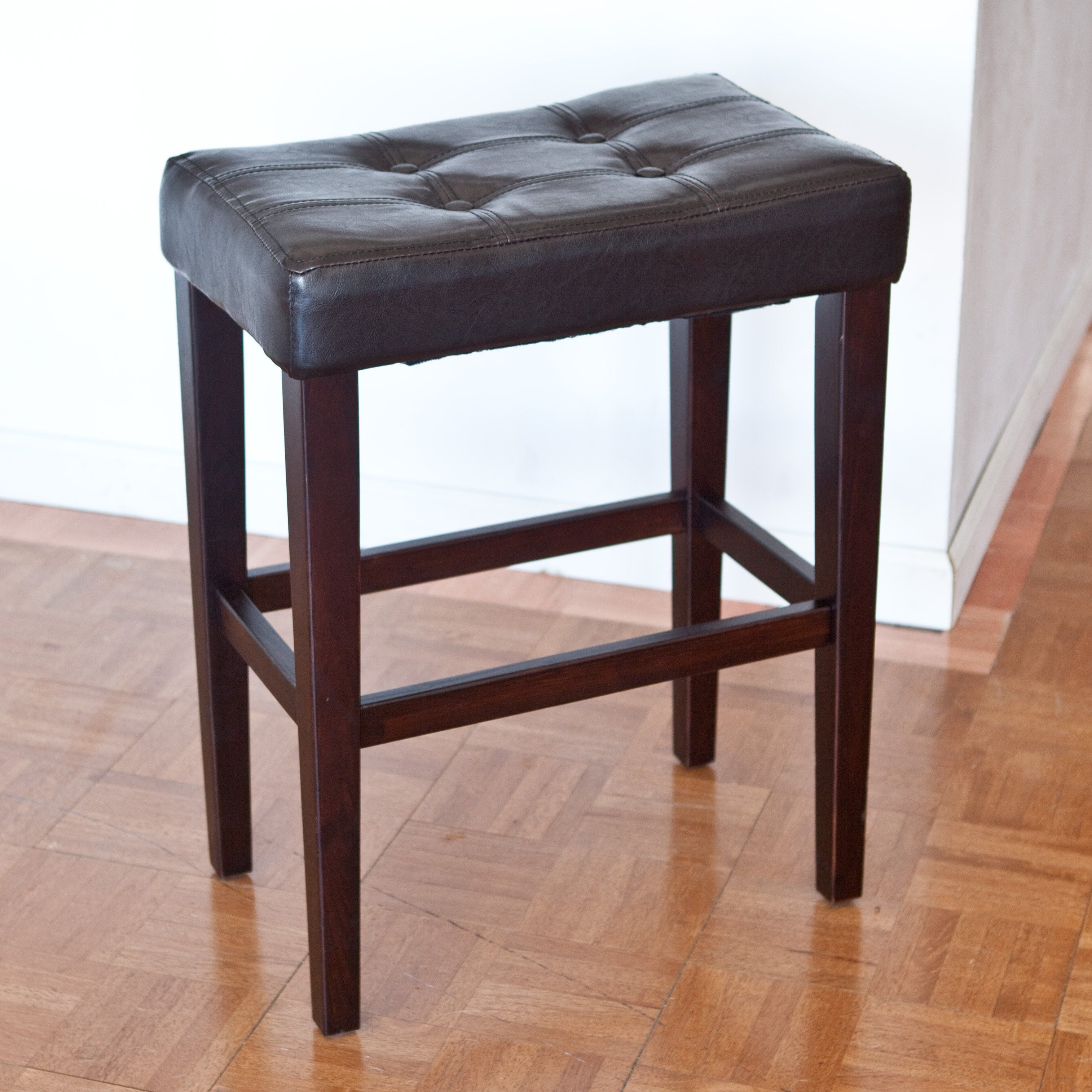 Have To Have It Palazzo 26 Inch Saddle Counter Stool Brown 4998