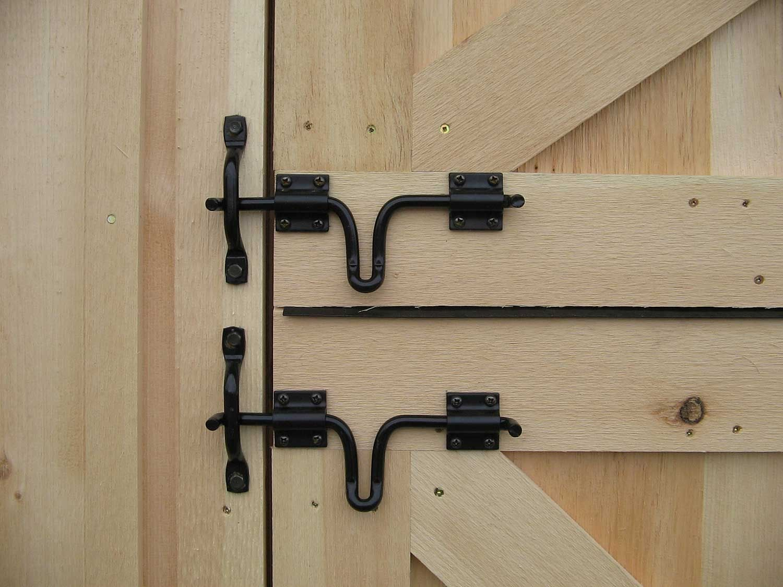 Double Barn Door Lock Barn door latch, Barn door locks
