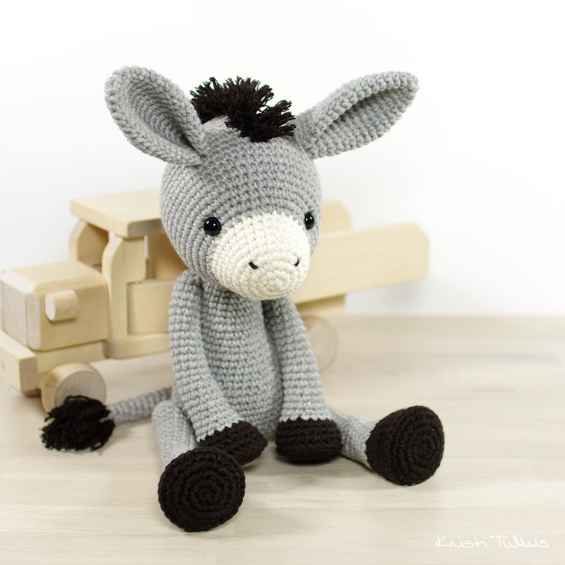 Pattern: 4-way jointed amigurumi donkey // Kristi Tullus (spire.ee ...