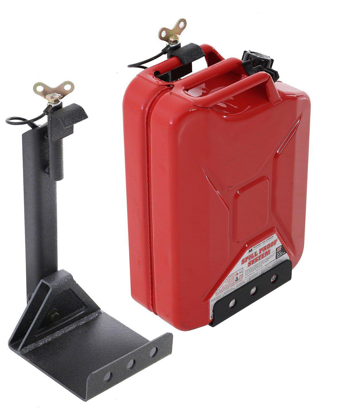Smittybilt D8007 Heavy Duty Gas Can Mount For Smittybilt