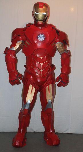 IRON MAN Costume Iron man costumes, Costumes and Halloween costumes - 4 man halloween costume ideas