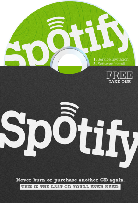 Spotify Advertising Campaign by Justin Marimon, via