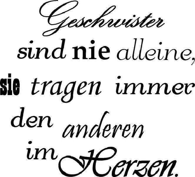 geschwister quotes pinterest tattoo and poem. Black Bedroom Furniture Sets. Home Design Ideas