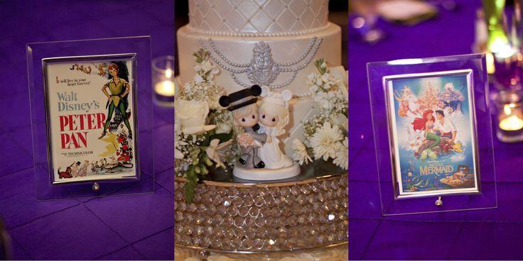 Disney Themed Wedding Reception Ideas Disney Themed Wedding