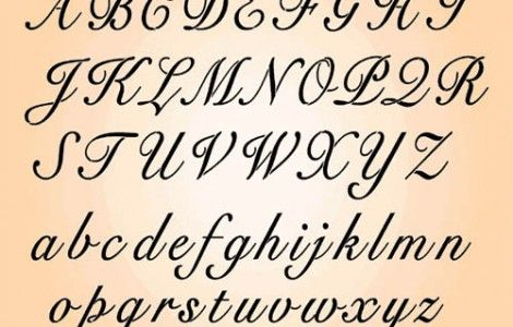 Letter Designs For Tattoos A Z