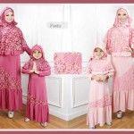 Gamis Anak Jersey Kombinasi Brokat 627 Baju Gamis Terbaru Online Busana Islami Gaun Pengiring Pengantin Pakaian Pesta