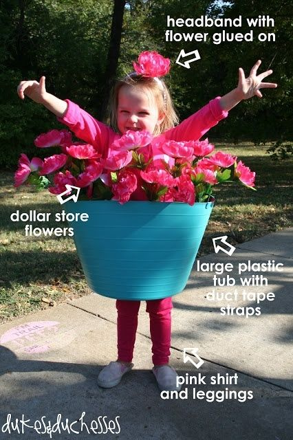 Flower Pot Costume By Fran