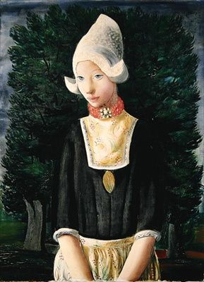 Moise Kisling:  Dutch Woman #NoordHolland #Volendam