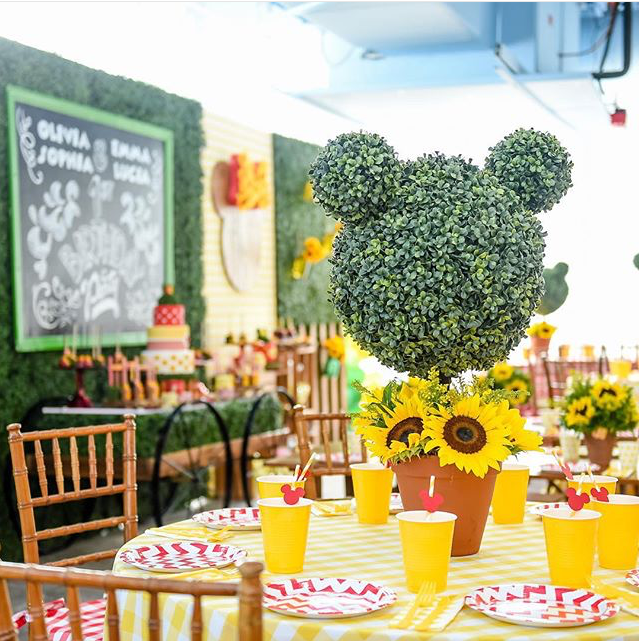Disney's Mickey Mouse/ Minnie Mouse Garden Inspired Party