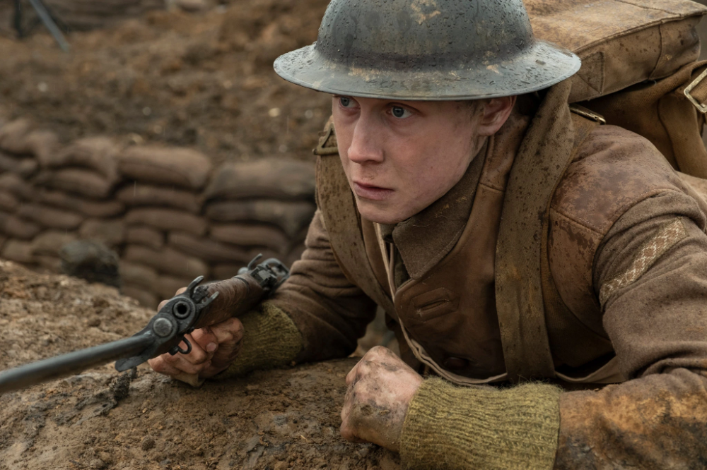 1917 Review Paths Of Technical Glory Published 2019 George Mackay War Film Movies