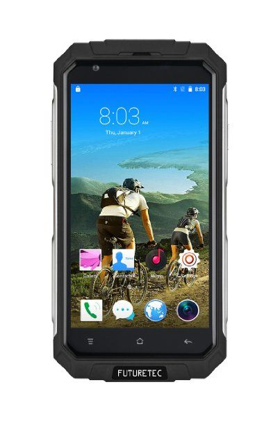 Great Rugged Android 5 1 Based Phone Futuretech V9 Dustproof Shakeproof Smartphone Review By Tex Reviews August 3 2016