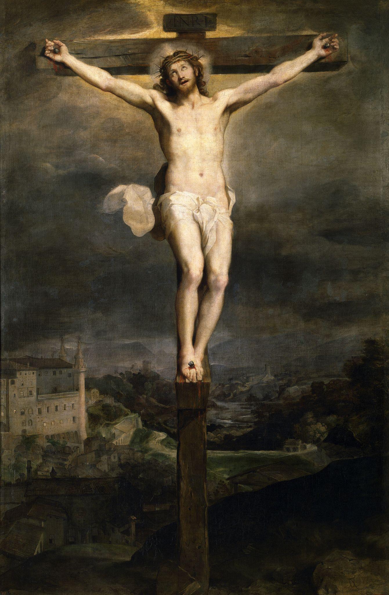 Картинки по запросу cristo en la cruz pintura
