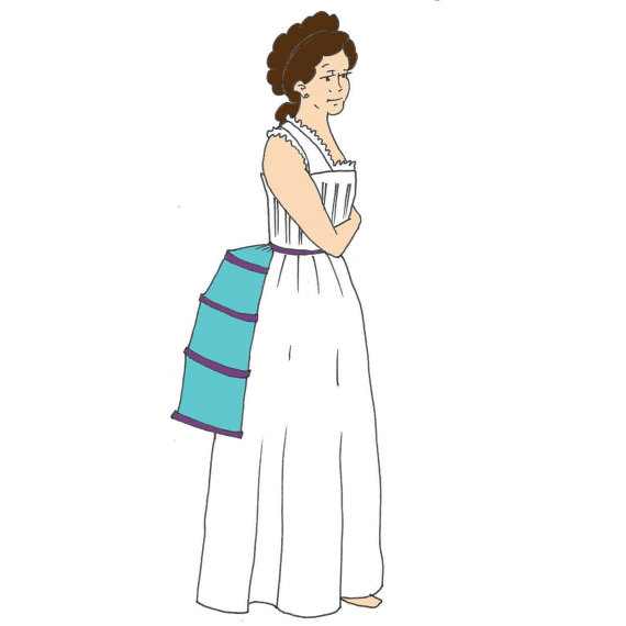 RC963 - Ladies\' Bustle Cage Sewing Pattern by Reconstructing History ...