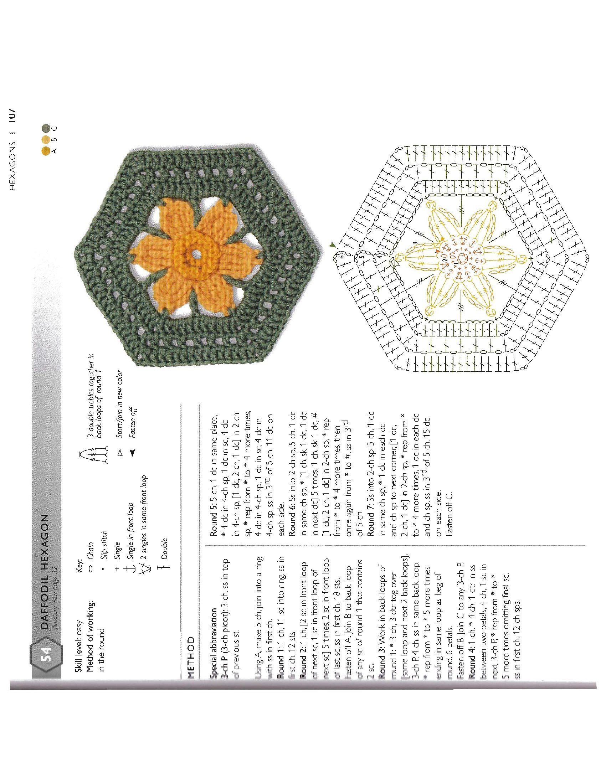 O 15c44e5172912422 108 Crochet Ideas 04 Pinterest Granny Flower Motif Motivos Hexagonales Beautiful Motifs For Beginners