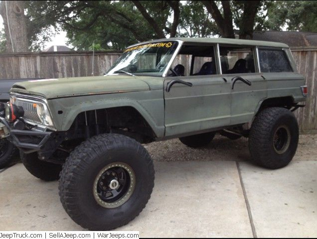 One Of A Kind Custom Built 1973 Jeep Wagoneer Low Mileage Engine Tires Wheels 40 Inch Goodyear Wrangler Mtr High Impact 17x10 Jeep Wagoneer Jeep Vintage Jeep