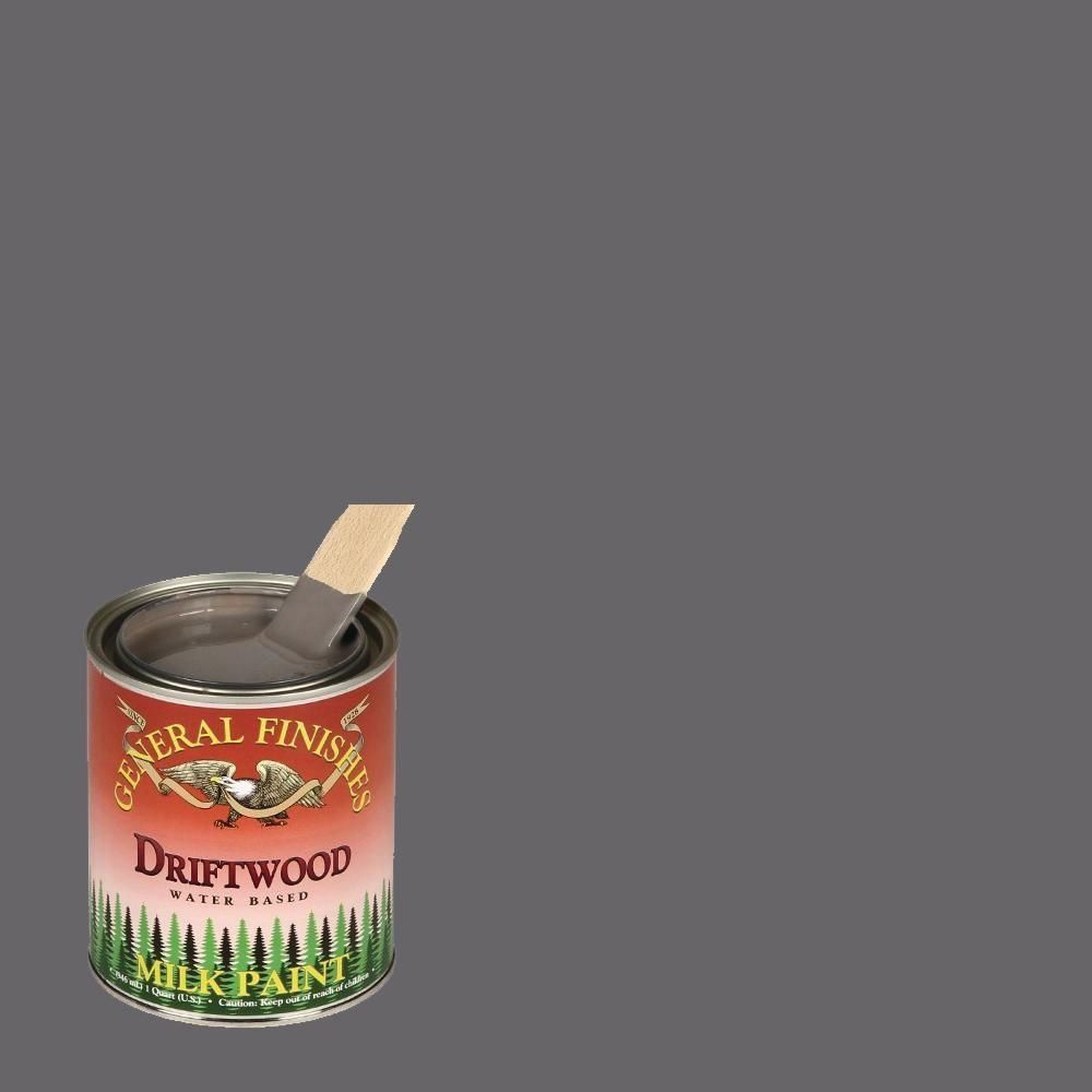 General Finishes 1 Pt Driftwood Interior Exterior Milk Paint Gf Pd The Home Depot In 2020 Milk Paint General Finishes Milk Paint Milk Paint Furniture