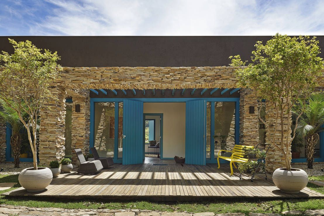 10 Fachadas De Piedra Sensacionales Casas R Sticas R Stico Y
