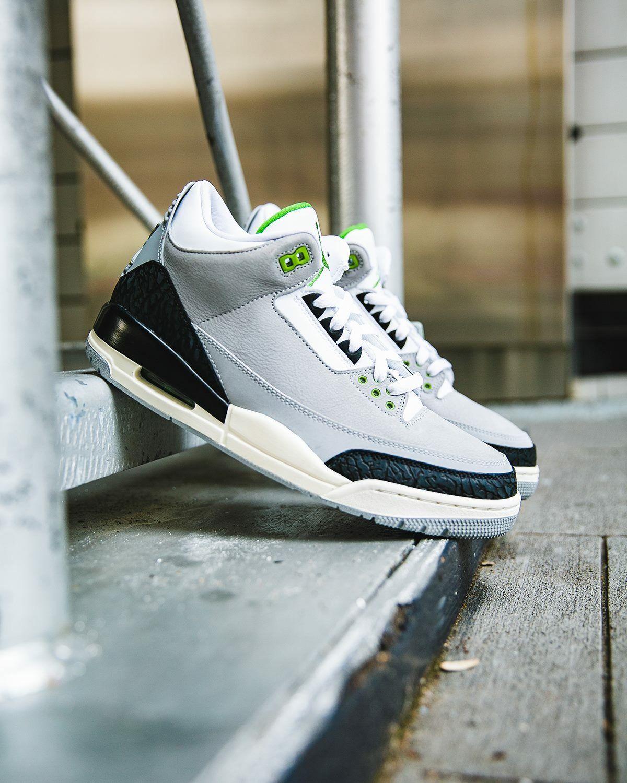 """Nike Air Jordan III """"Chlorophyll"""" Air jordan iii, Air"""