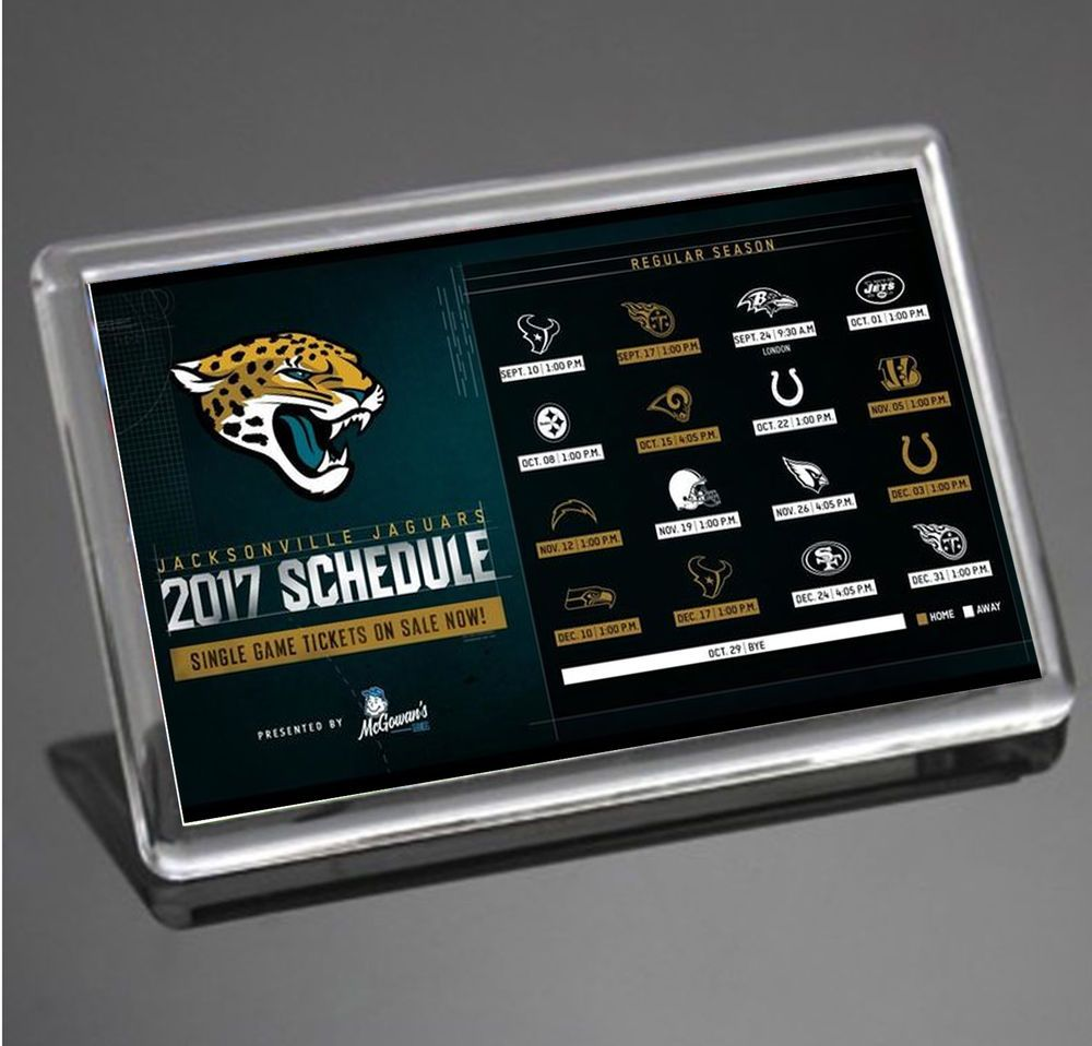 jacksonville jaguars 2017 schedule nfl super bowl usa jumbo size