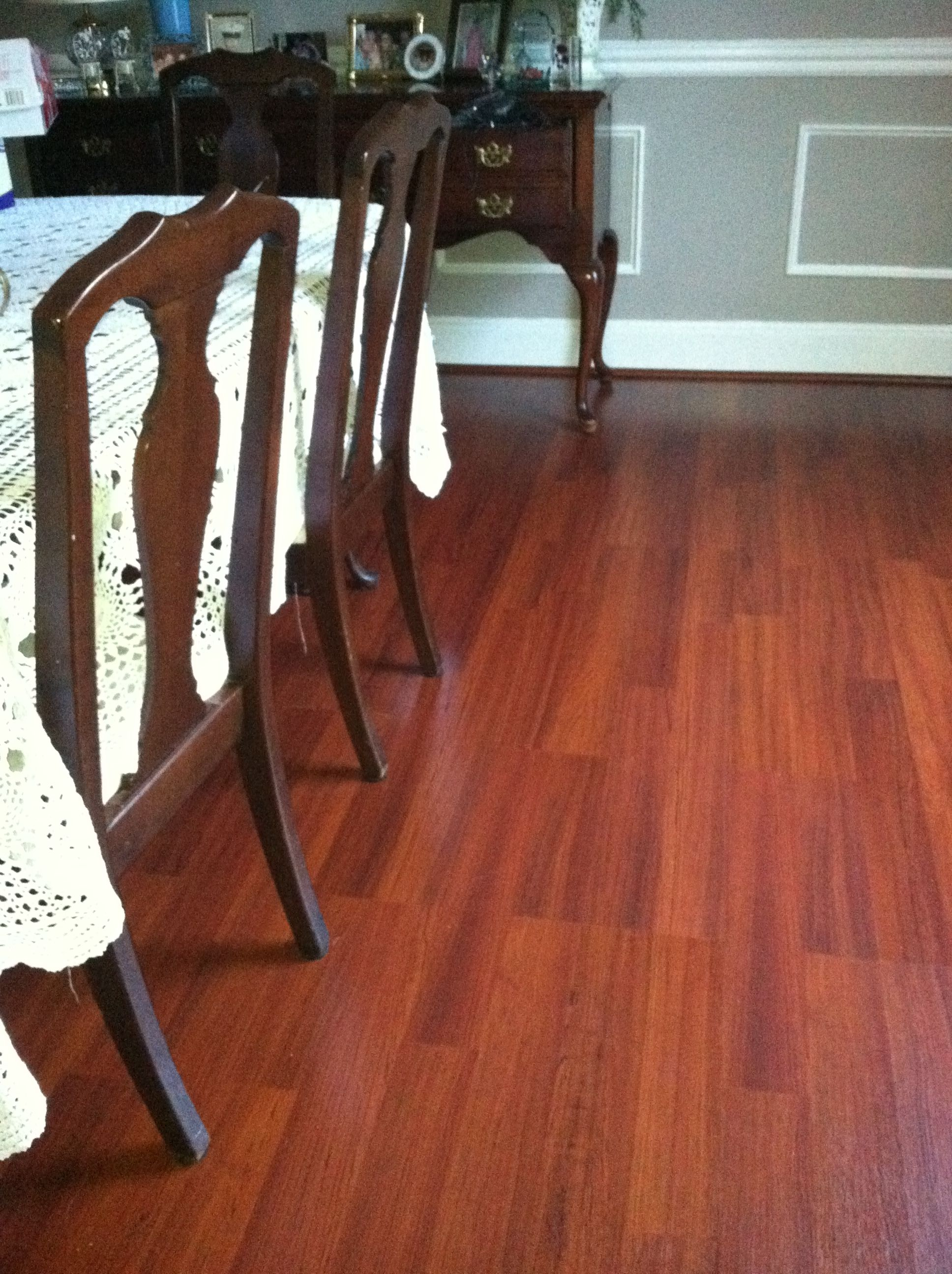 Castello Silence Brazilian Cherry Laminate Flooring
