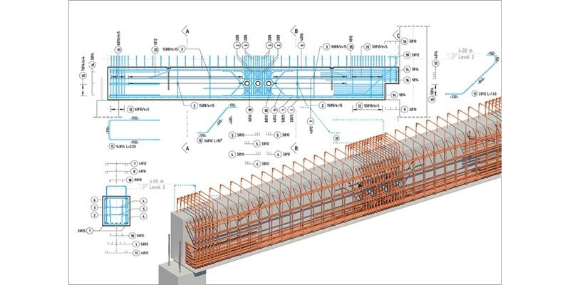 Bim For Reinforced Concrete It S In The Details News The Bim Hub Reinforced Concrete Concrete Architecture Building Information Modeling