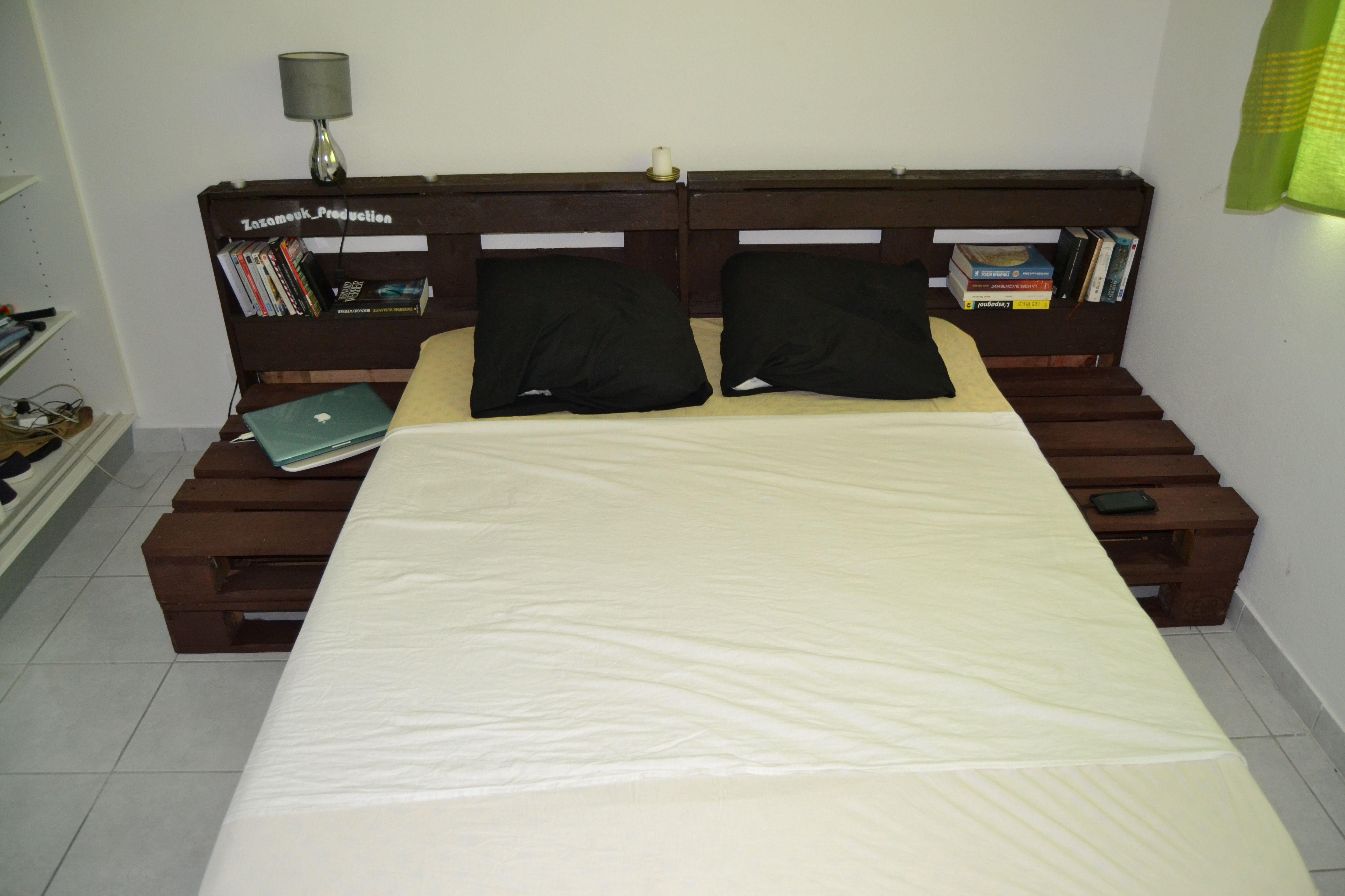lit en palette id es t te de lit pinterest lit en palette lit et palette. Black Bedroom Furniture Sets. Home Design Ideas