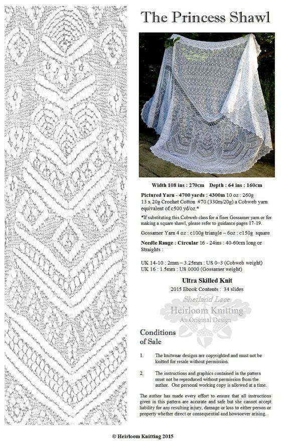 the princess shawl revised and updated for tablet viewing sharon miller shetland lace. Black Bedroom Furniture Sets. Home Design Ideas