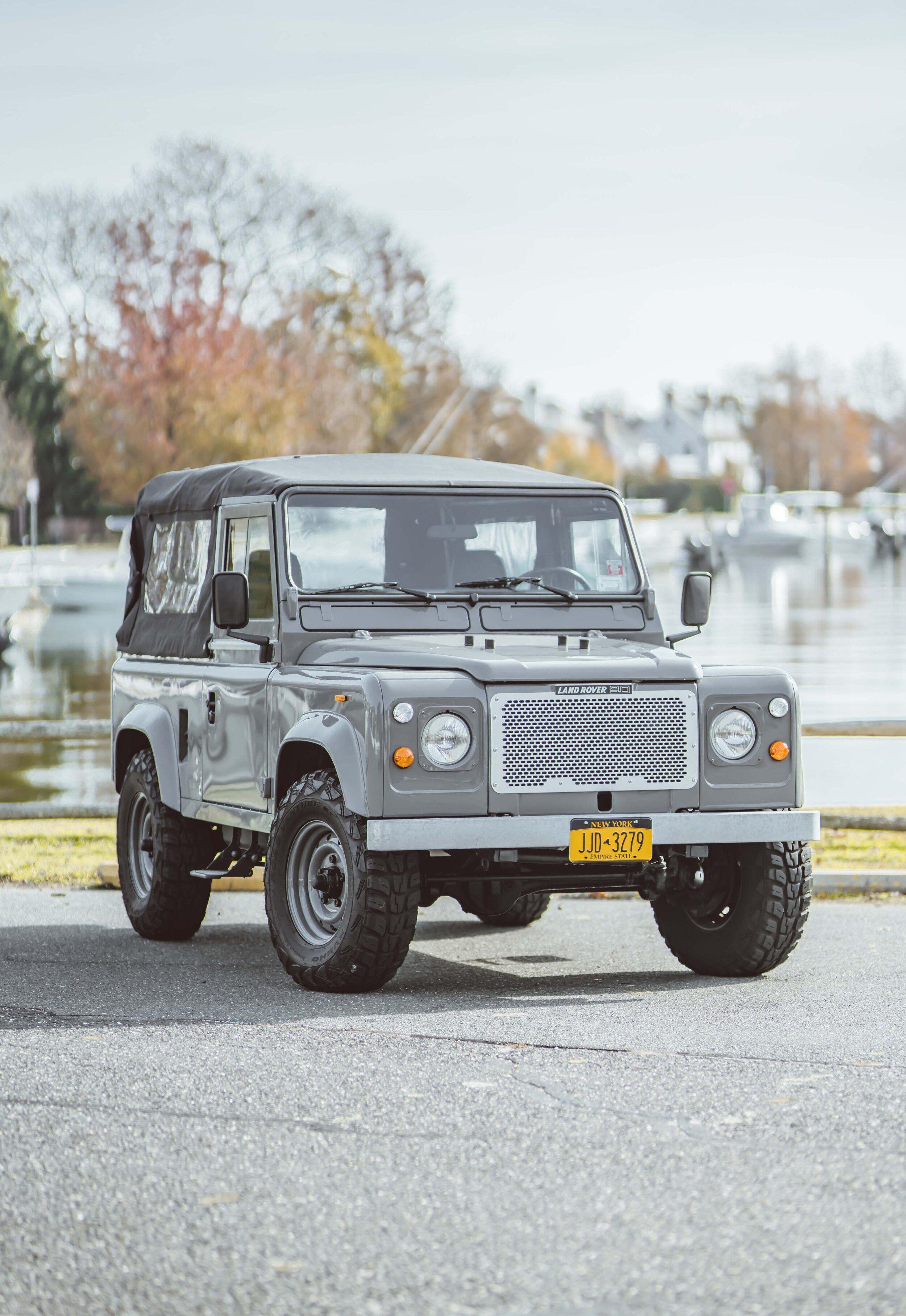 Brooklyn Coachworks Defender 90 Dove Grey Brooklyn Coachworks Defender 90 Defender Land Rover For Sale
