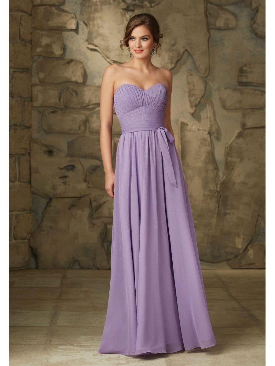 Affordable long chiffon bridesmaid dresses bridesmaid
