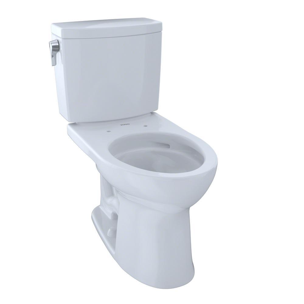 Toto Drake Ii 2 Piece 1 0 Gpf Single Flush Elongated
