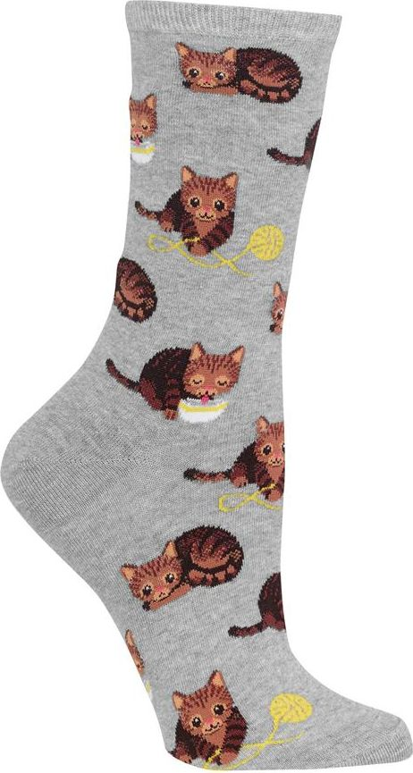 Be as playful as adorable kittens in these cute women's cat socks!