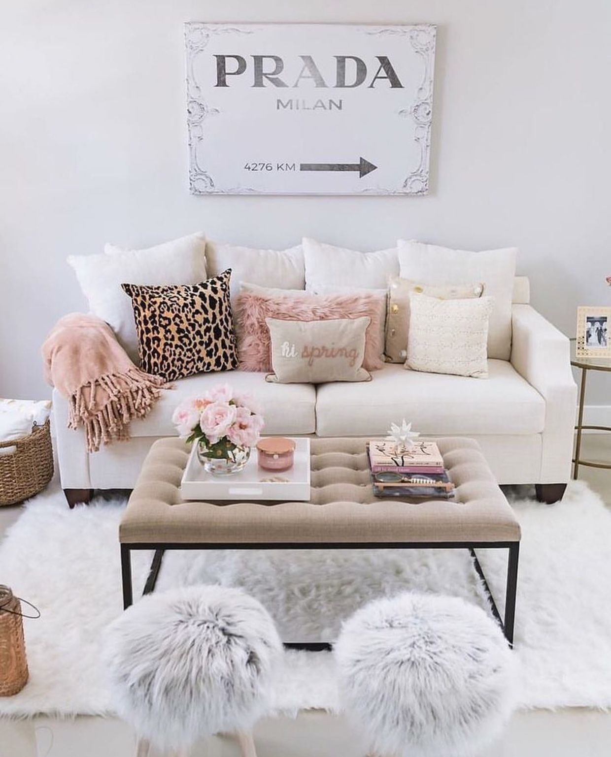 glam + girly | Spring living room, Living room decor cozy, Living room  update