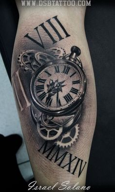 Horloge Tattoo Tatouage Montre Tatouage Et Tatouage Horloge