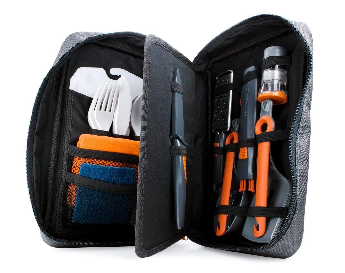 Gsi Outdoors Destination Kitchen All In One 24pc Kitchen Set Camping Hunting Backpacking Hiking Scouting Bug O Backpacking Gear Camping Essentials Camping Gear