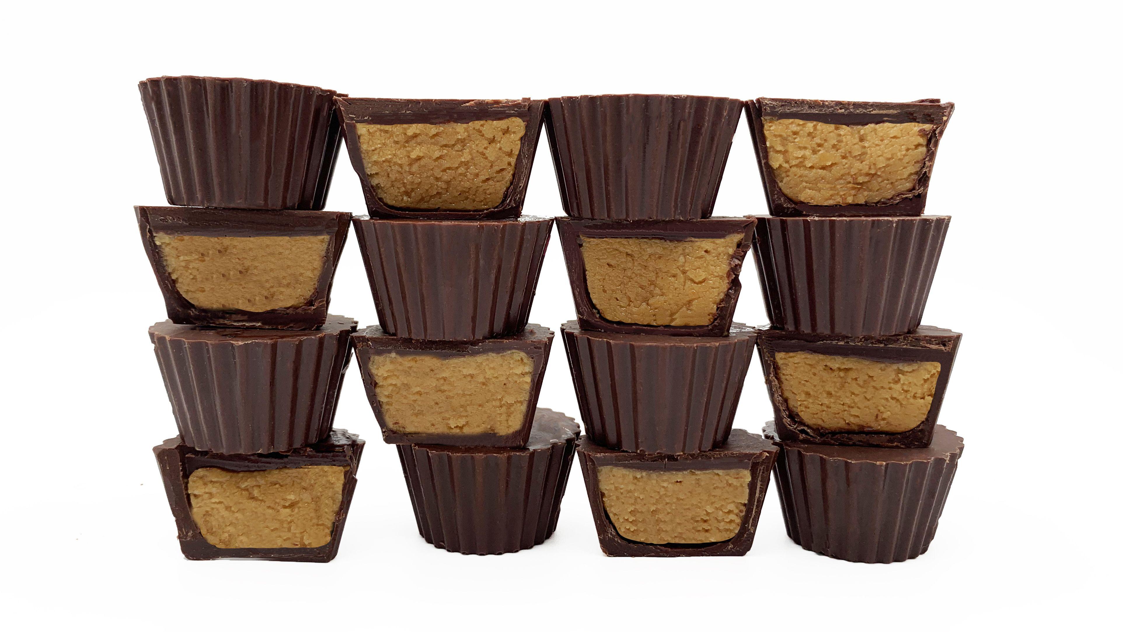 Vegan Peanut Butter Cups in 2020 Vegan peanut butter